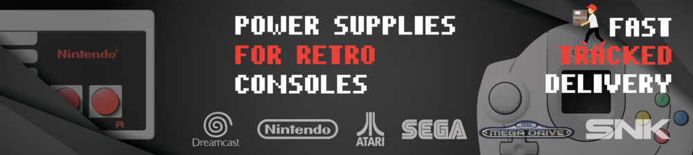 Retro video game power supplies
